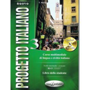 Nuovo Progetto Italiano 3. Podręcznik + CD