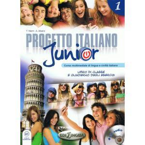 Progetto Italiano Junior 1. Podręcznik + Ćwiczenia + CD