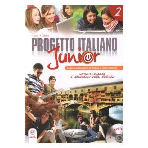 Progetto Italiano Junior 2. Podręcznik + Ćwiczenia + CD