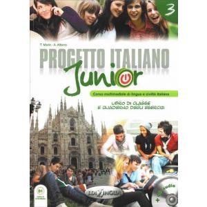Progetto Italiano Junior 3. Podręcznik + Ćwiczenia + CD