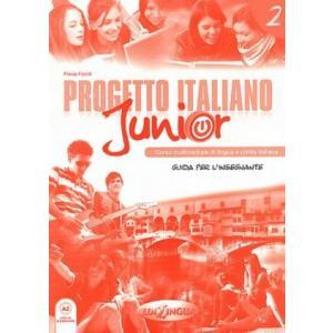 Progetto Italiano Junior 2. Przewodnik Metodyczny