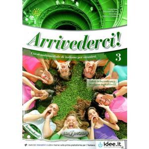 Arrivederci! 3 podręcznik + ćwiczenia + audio CD