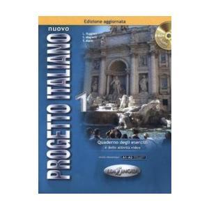 Nuovo Progetto Italiano 1. Ćwiczenia + CD