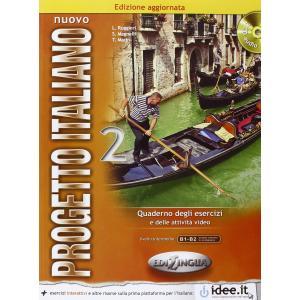 Nuovo Progetto Italiano 2. Ćwiczenia + CD