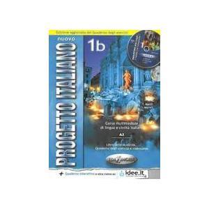 Nuovo Progetto Italiano 1B. Podręcznik + Ćwiczenia + CD-ROM Edizione aggiornat