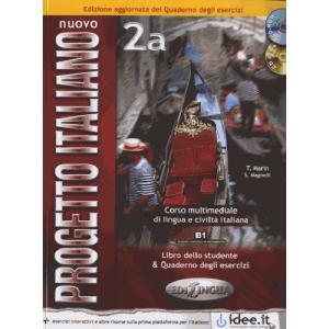 Nuovo Progetto Italiano 2a. Podręcznik z Ćwiczeniami + CD