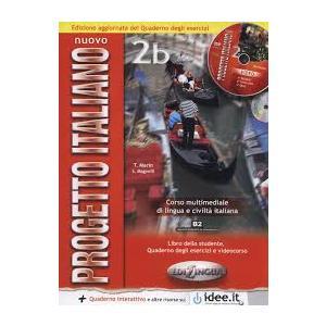 Nuovo Progetto Italiano 2B. Podręcznik + Ćwiczenia + CD. Edizione Aggiornata