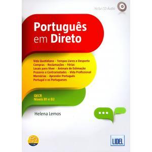 Portugues em Direto książka + CD B1/B2