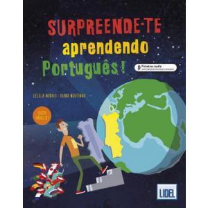 Surpreende-te aprendendo portugues książka + audio online B1
