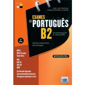 Exames de portugues B2 preparcao e modelos książka + audio online
