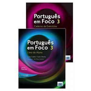 Portugues em Foco 3 podręcznik + ćwiczenia + audio online B2