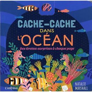 LF Cache cache Dans l'Ocean /książeczka rozkładana/