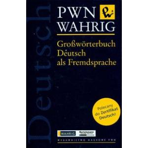 Wahrig Grossworterbuch Deutsch als Fremdsprache