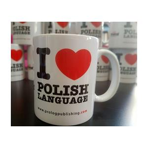 Kubek I love Polish language