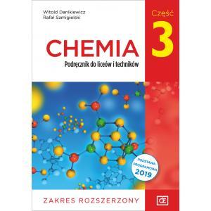 Chemia. Liceum i technikum. Podręcznik część 3. Zakres rozszerzony