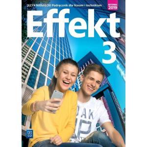 Effekt 3. język niemiecki. Liceum i technikum. Podręcznik z CD-ROM