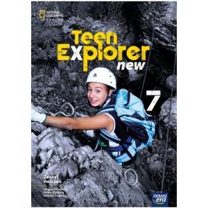 Teen Explorer New 7. Szkoła podstawowa. Zeszyt ćwiczeń