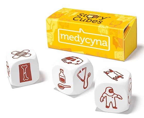 Story Cubes: Medycyna. Gra Planszowa
