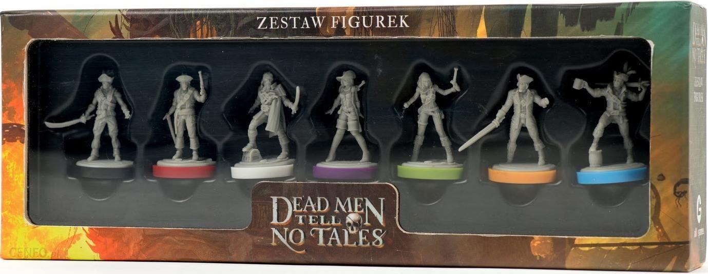 Dead Men Tell No Tales: Zestaw Figurek. Dodatek do Gry Kooperacyjnej