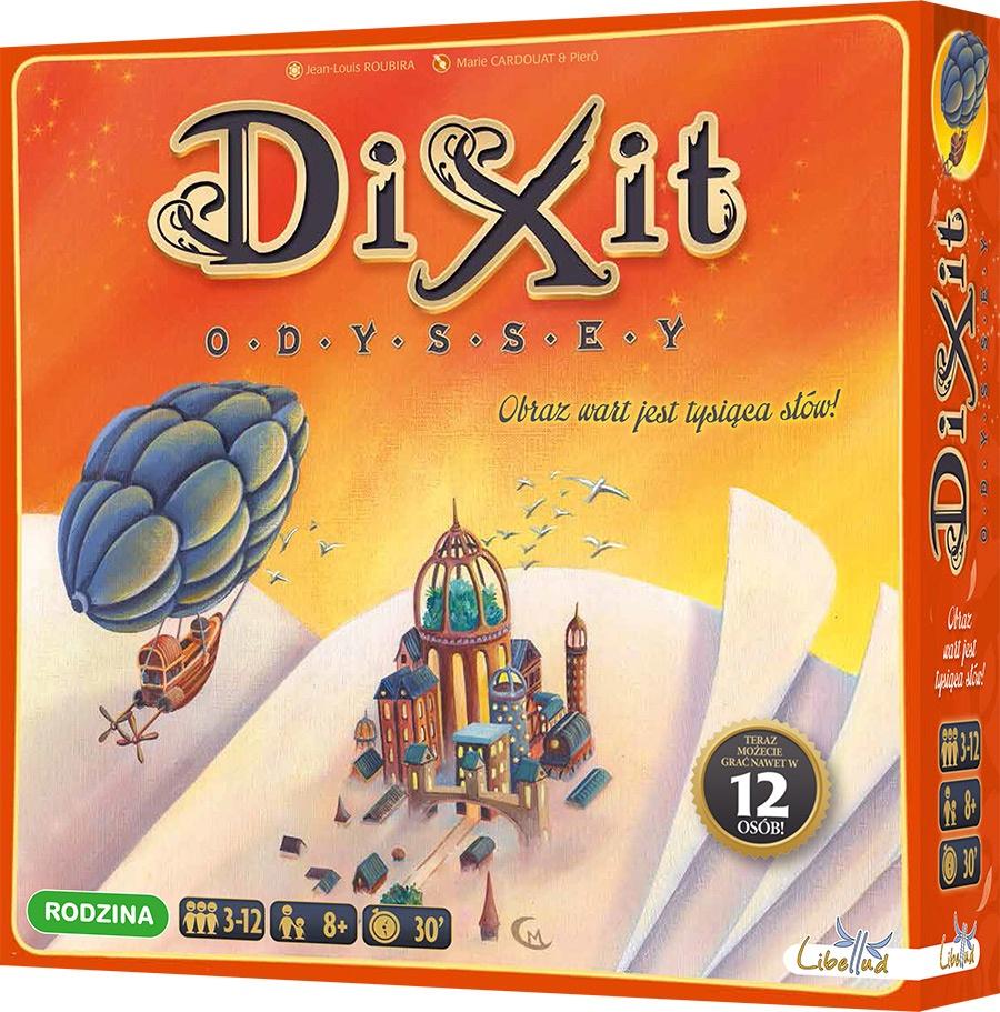 Dixit Odyssey. Gra Planszowa