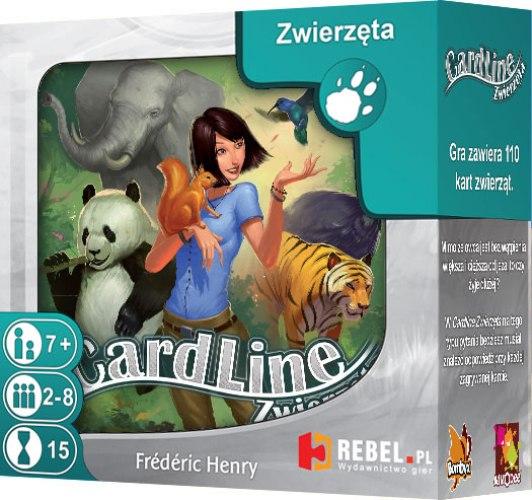 Cardline: Zwierzęta. Gra Planszowa