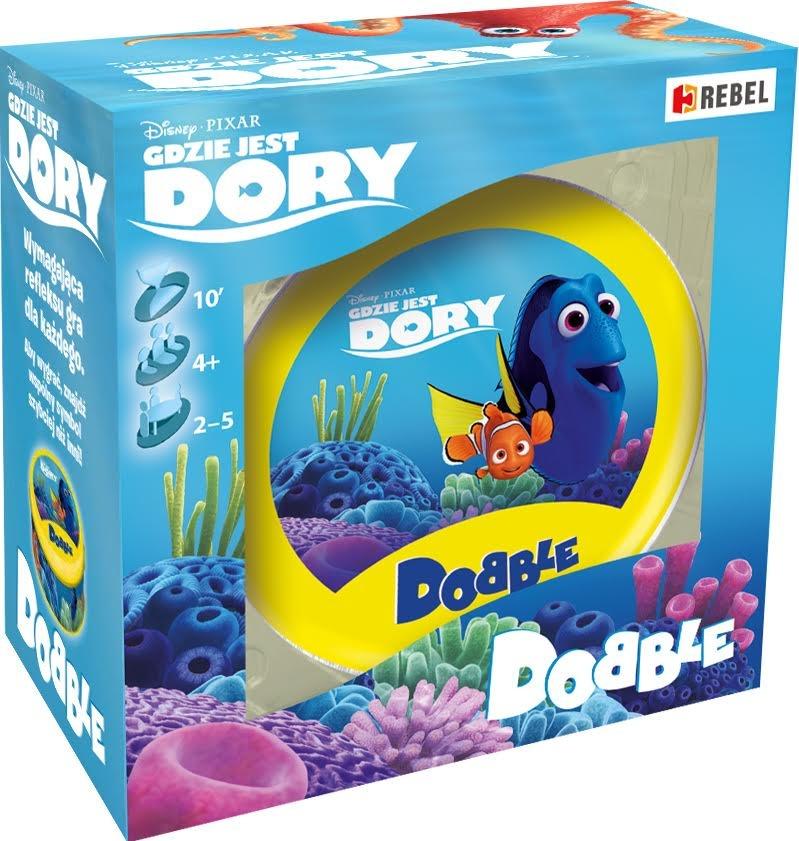 Dobble: Gdzie jest Dory? Gra Planszowa