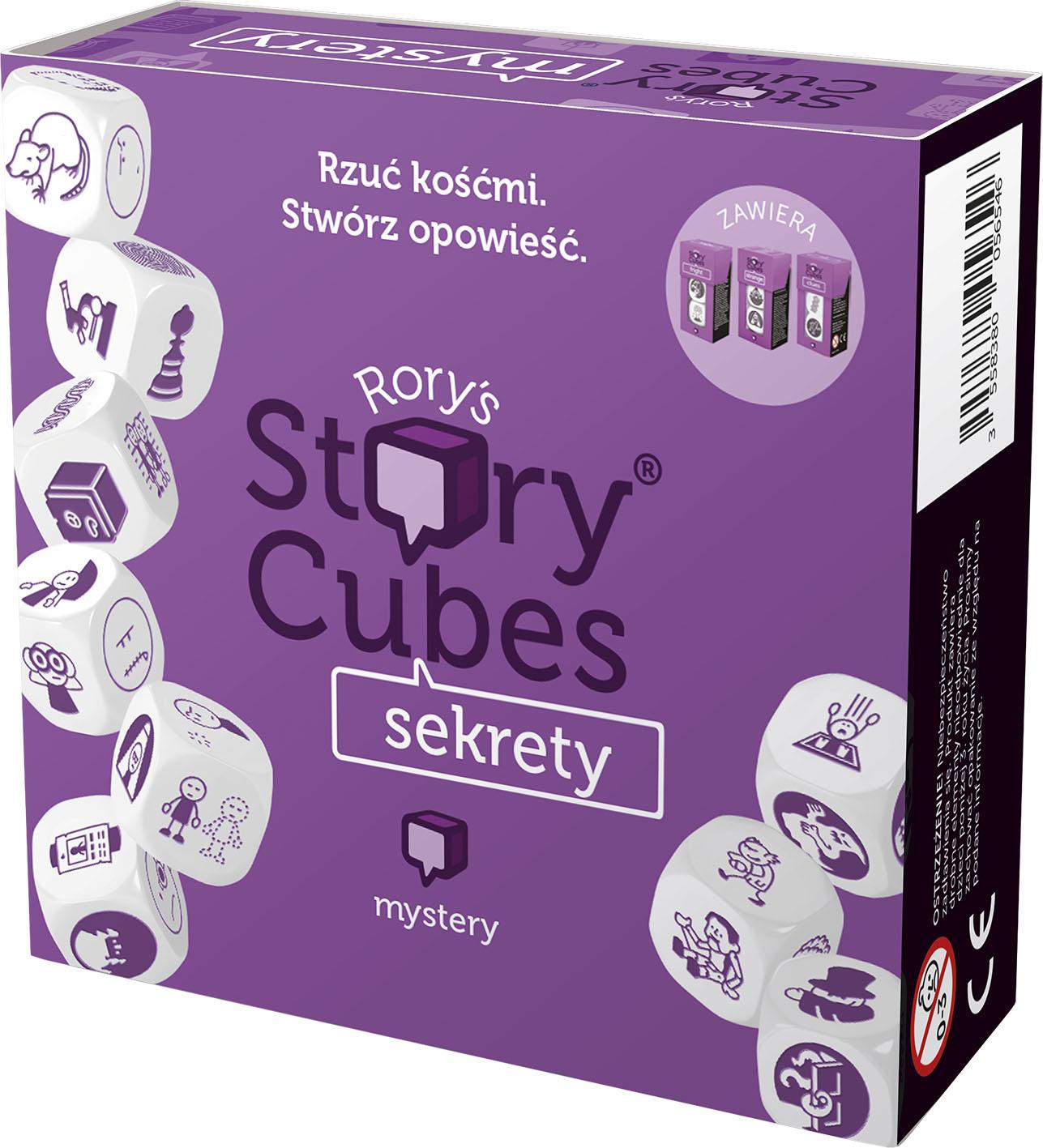 Story Cubes: Sekrety. Gra Planszowa