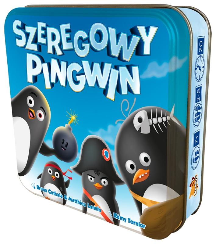 Szeregowy Pingwin. Gra Planszowa