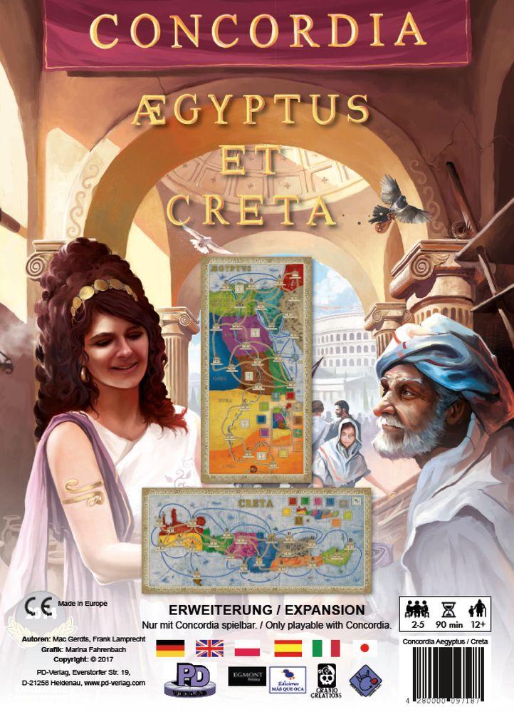 Concordia: Egipt / Kreta. Dodatek do Gry Planszowej