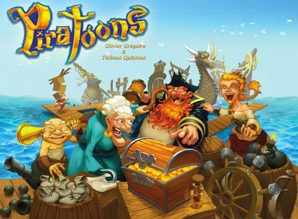Piratoons. Gra Planszowa