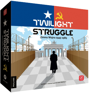 Twilight Struggle: Zimna Wojna 1945-1989. Gra Planszowa