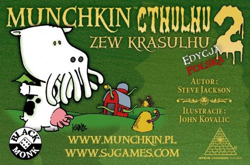Munchkin Cthulhu 2 - Zew Krasulhu. Dodatek do Gry Karcianej