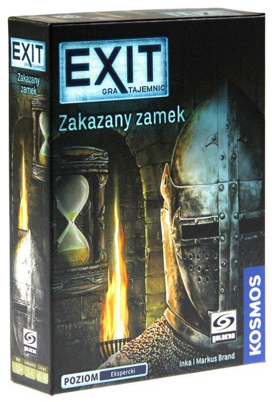 EXIT: Gra Tajemnic - Zakazany Zamek. Gra Planszowa