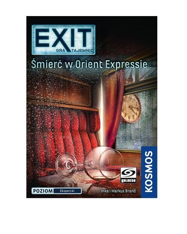EXIT: Gra Tajemnic - Śmierć w Orient Expressie. Gra Planszowa