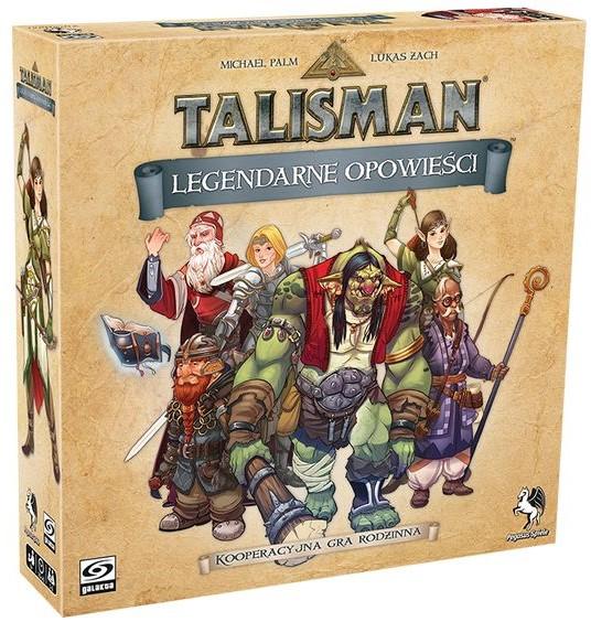 Talisman: Legendarne opowieści + Druid + Karty Promocyjne