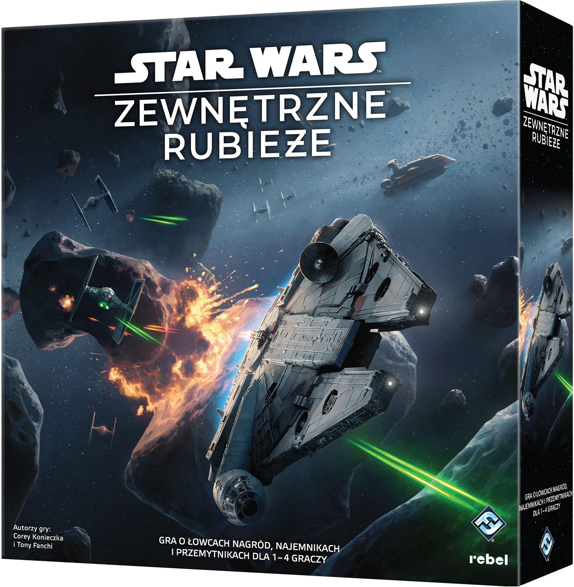 Star Wars: Zewnętrzne Rubieże. Gra Planszowa
