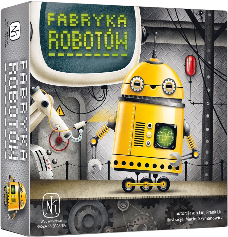 Fabryka Robotów Gra Planszowa