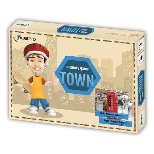 Memory Game. Town