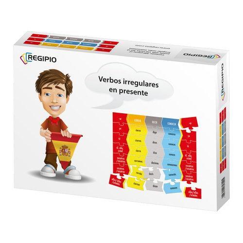 Gra Językowa Hiszpański. Verbos Irregulares en Presente