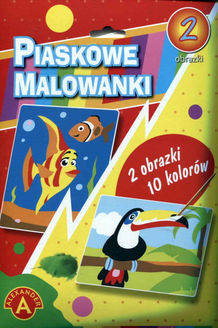 Piaskowa Malowanka Rybka, Tukan