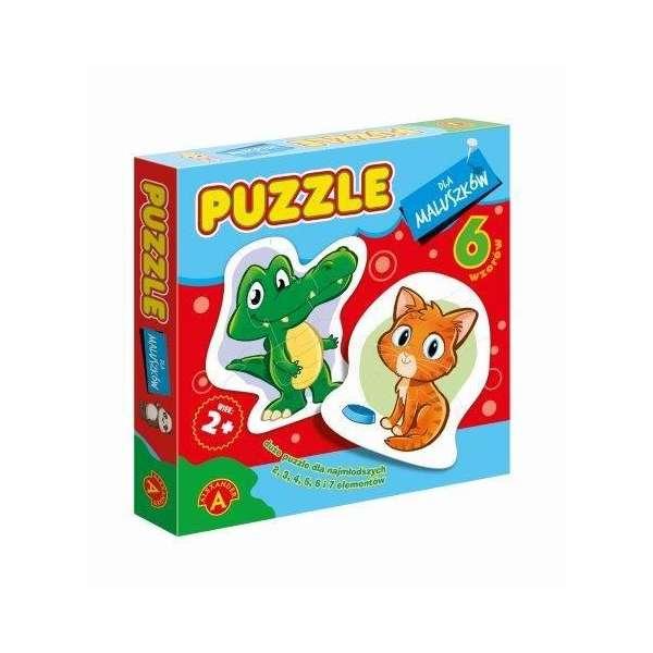 Puzzle dla Maluszków. Krokodyl