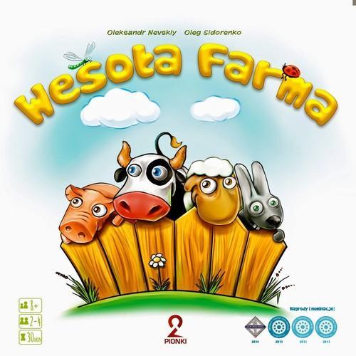Wesoła Farma. Gra Planszowa