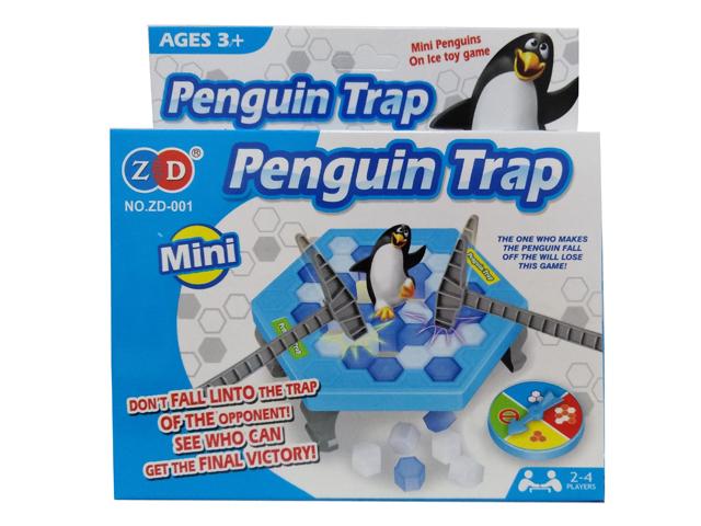 Gra mini Pingwinki na lodzie