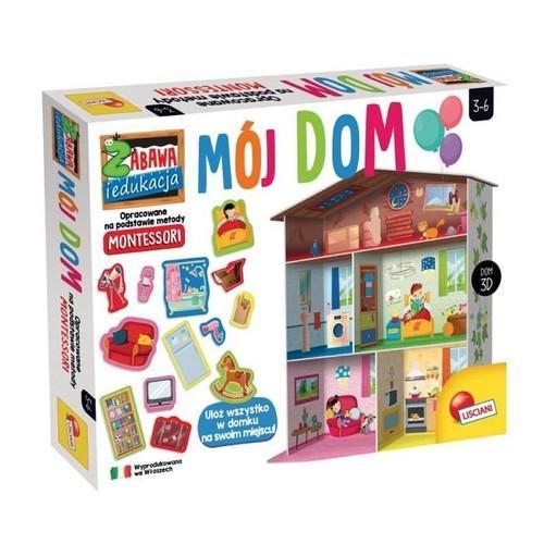 Montessori. Zabawa edukacyjna. Mój dom