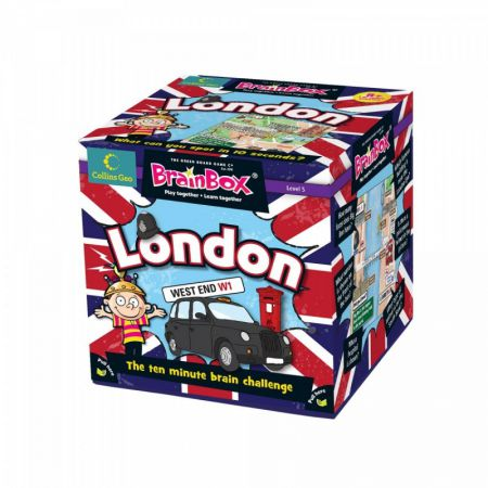 BrainBox. London. Gra Planszowa. Wersja Angielska