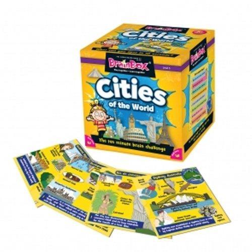 Brainbox Cities of the World. Gra Planszowa. Wersja Angielska