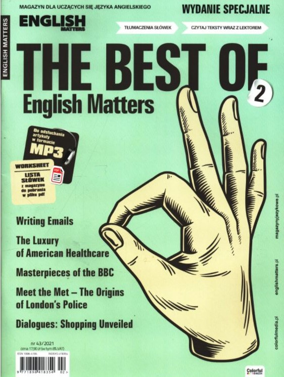 English Matters MAGAZYN wyd. specjalne nr 43/2021: The Best of English Matters 2
