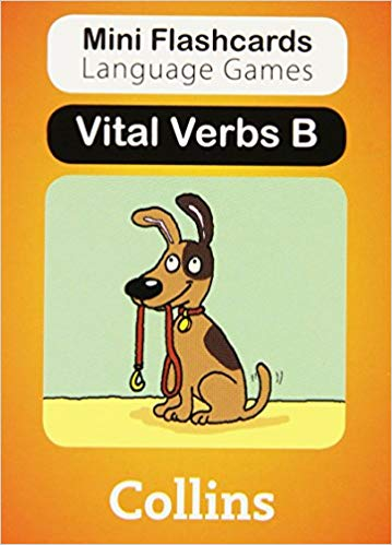 Vital Verbs - Card Pack B (Mini Flashcards Language Games)