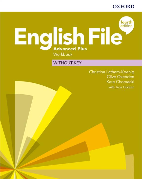 English File. 4th edition. Advanced Plus. Workbook without key