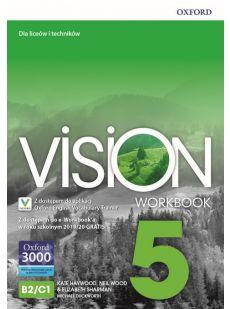 Vision 5. Workbook + kod online